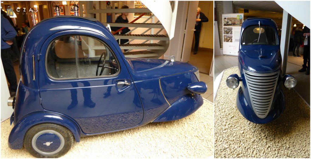 Muzeum DAF - wymarzony samochód Agnieszki na dojazdy do pracy ;)