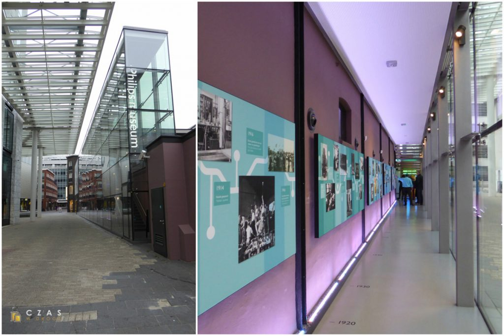 Wejście do muzeum Philips