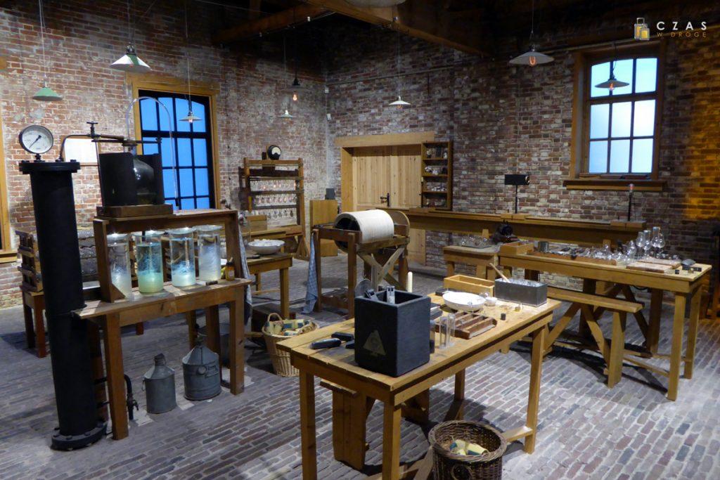 Muzeum Philips - rekonstrukcja pomieszczeń fabrycznych z XIX w.
