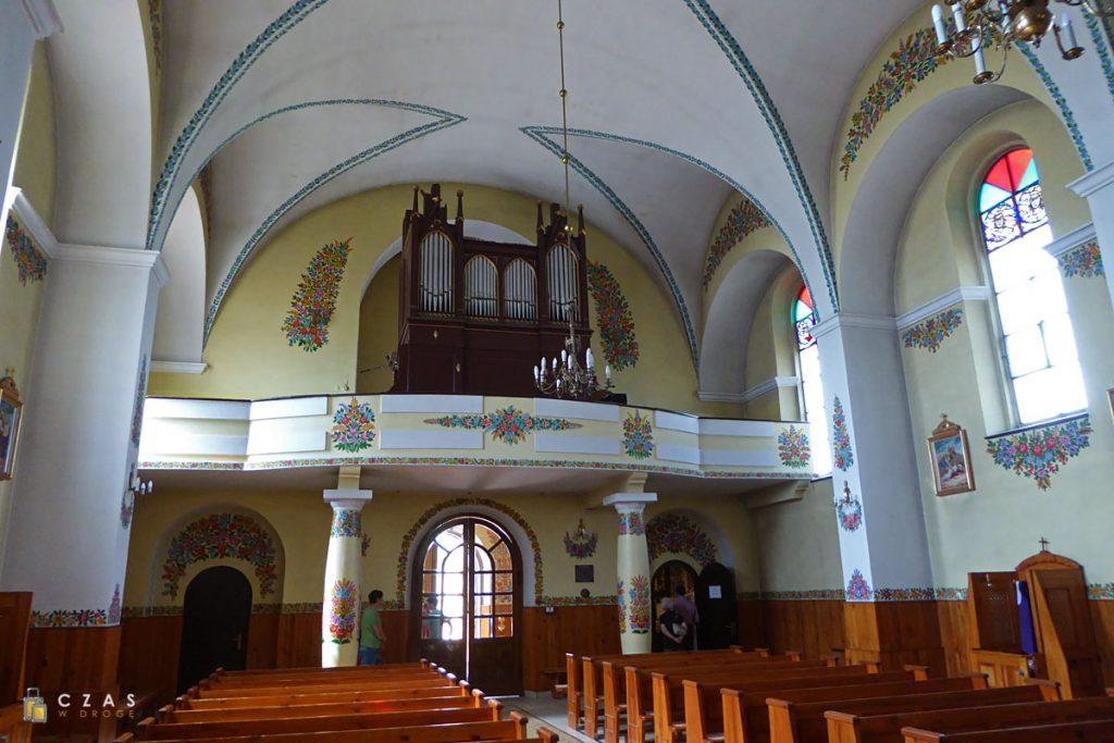 Wnętrze kościoła św. Józefa Oblubieńca