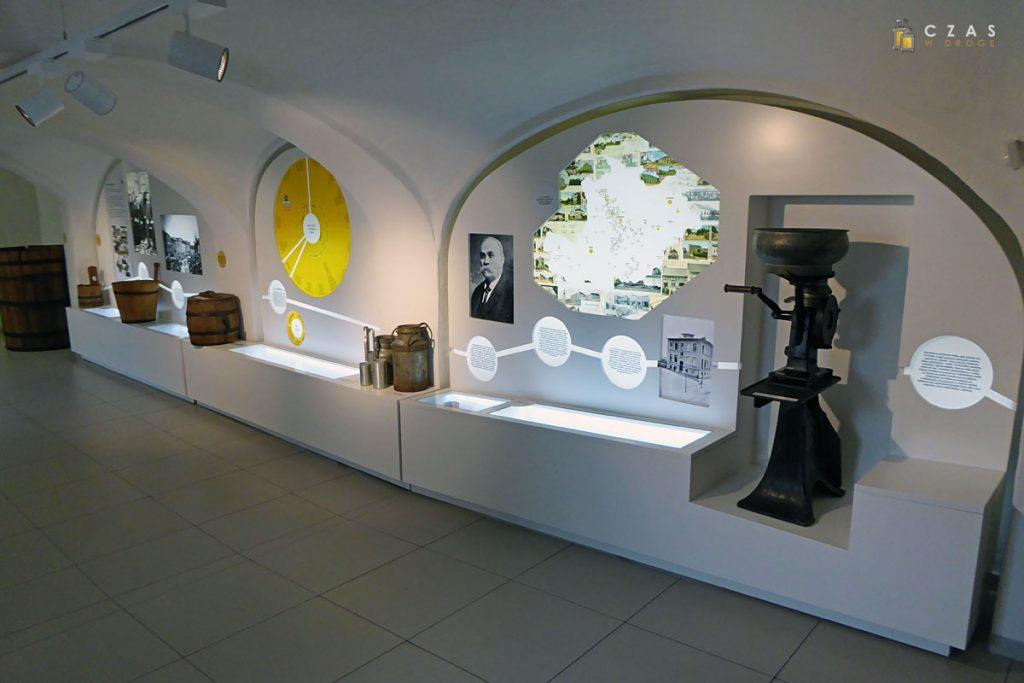 Historia produkcji twarogu w jednej z pierwszych sal
