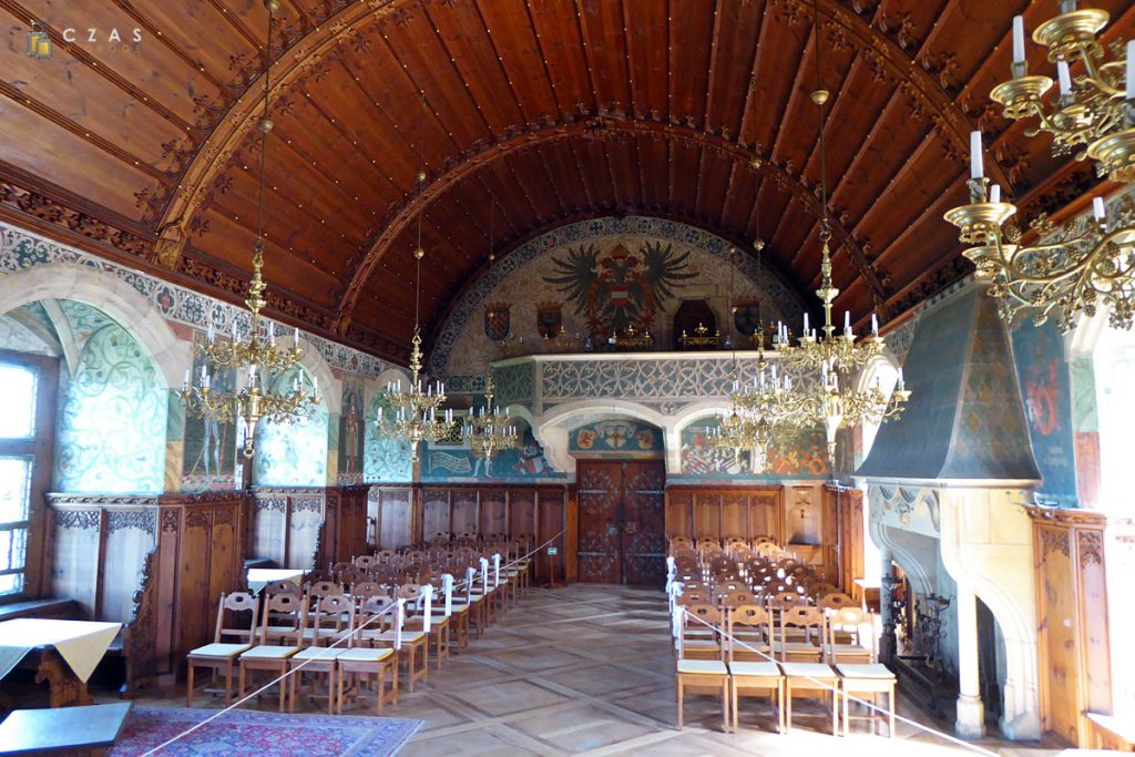 Sala rycerska zamku Bouzov