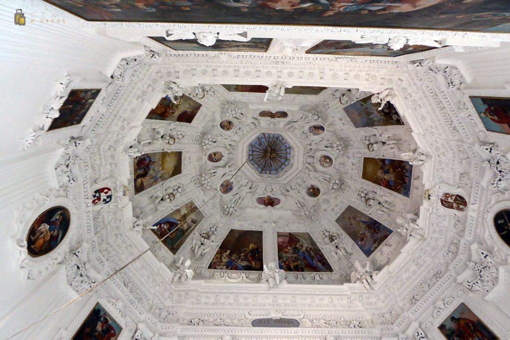 Sklepienie kaplicy zamkowej