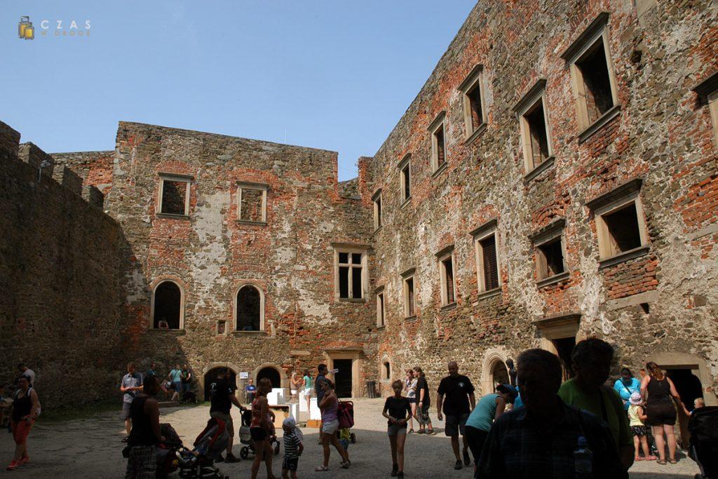 Ruiny najwyższej części zamku