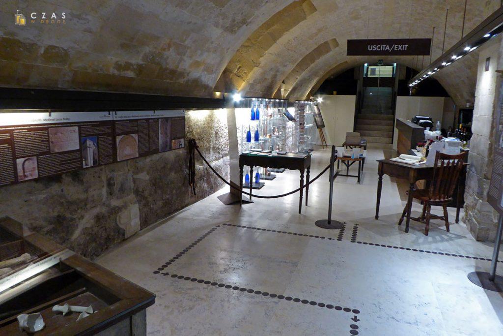 Palazzo Taurino - pierwsze pomieszczenie muzeum