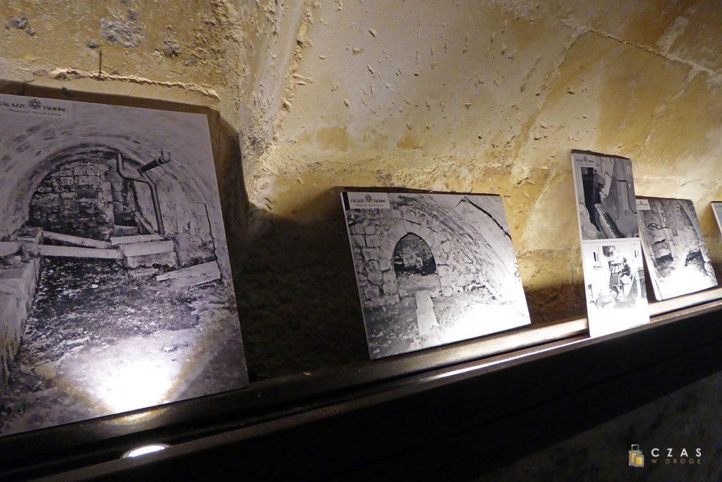 Palazzo Taurino - zdjęcia prezentujące stan sprzed remontu