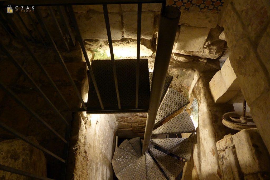 Museo Faggiano - zejście do podziemnych zbiorników na wodę