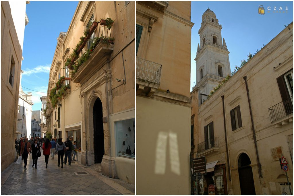 Uliczki Lecce :)