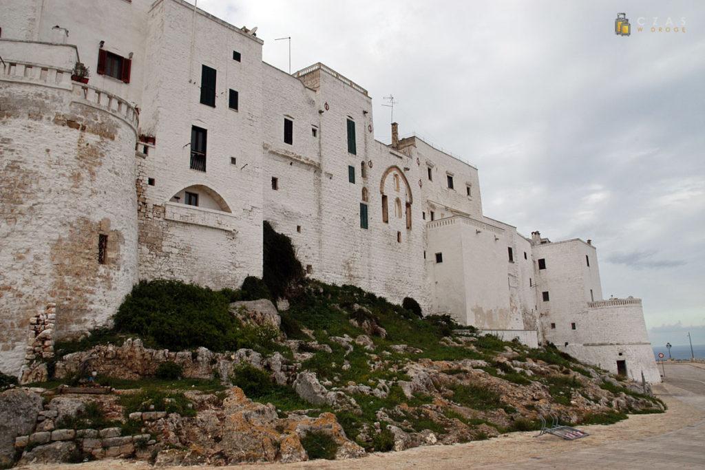 Widok na miasto z Viale Oronzo Quaranta