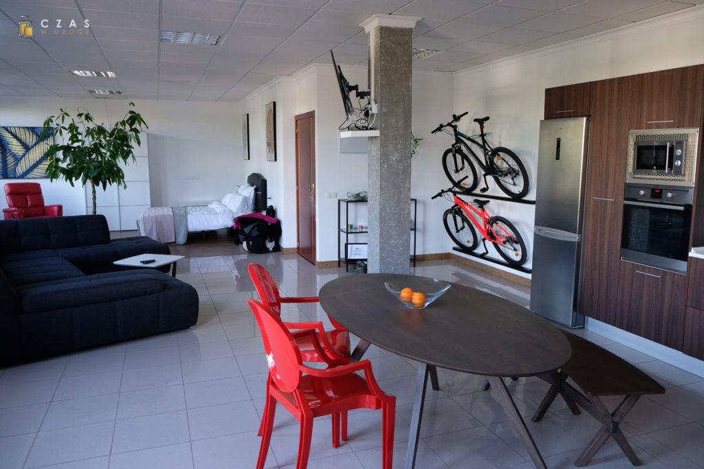 Wnętrze wynajętego apartamentu