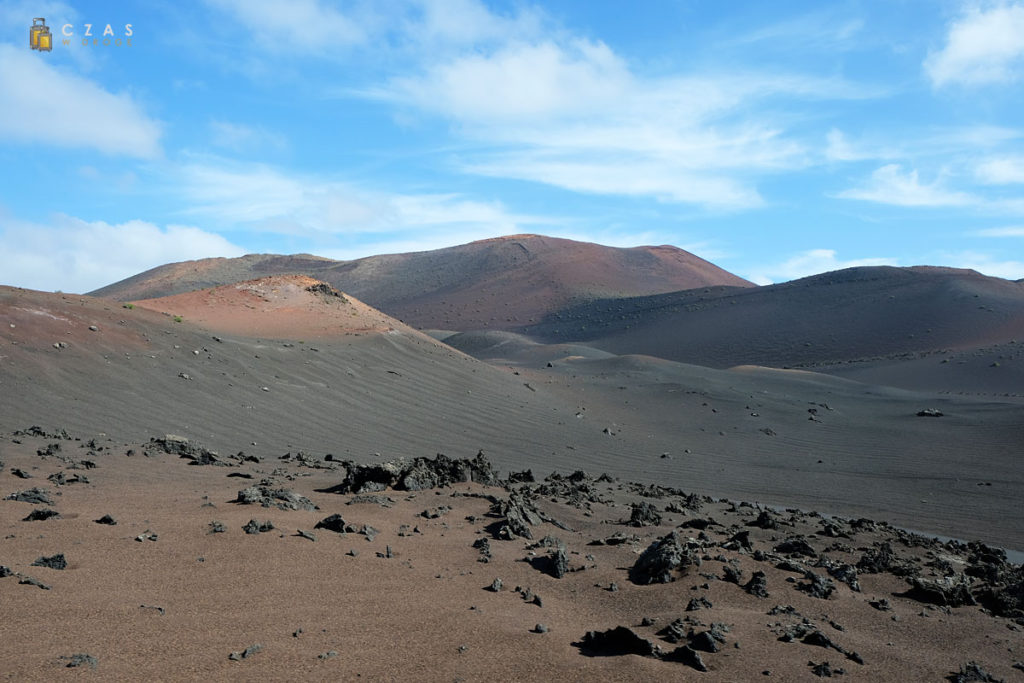 Surowe oblicze Lanzarote - Park Narodowy Timanfaya