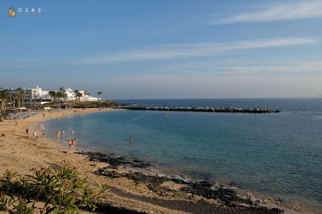 Lanzarote to oczywiście nie tylko wulkany ;) / Playa Blanca