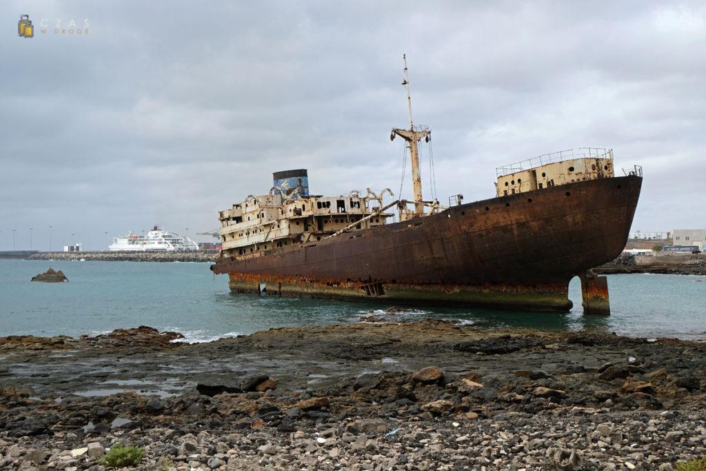 Wrak statku Telamon - Arrecife