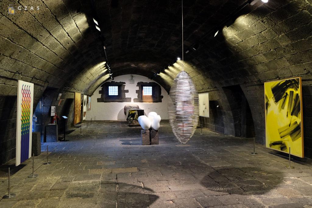 Wnętrza zamku San Jose