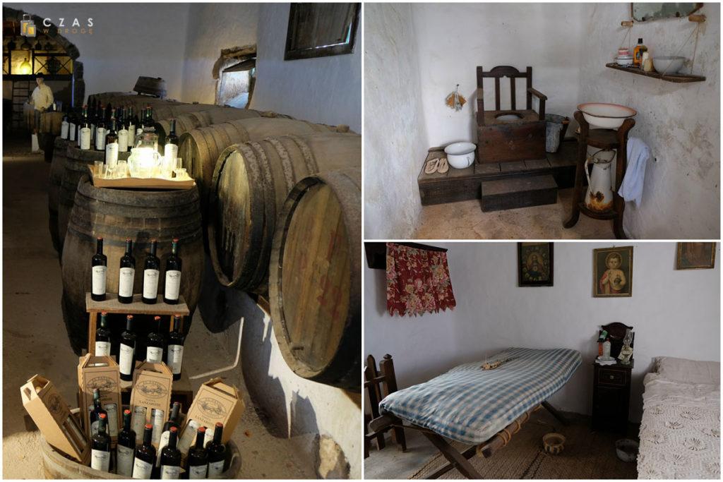 Zabytkowe pomieszczenia w Museo Agricola El Patio
