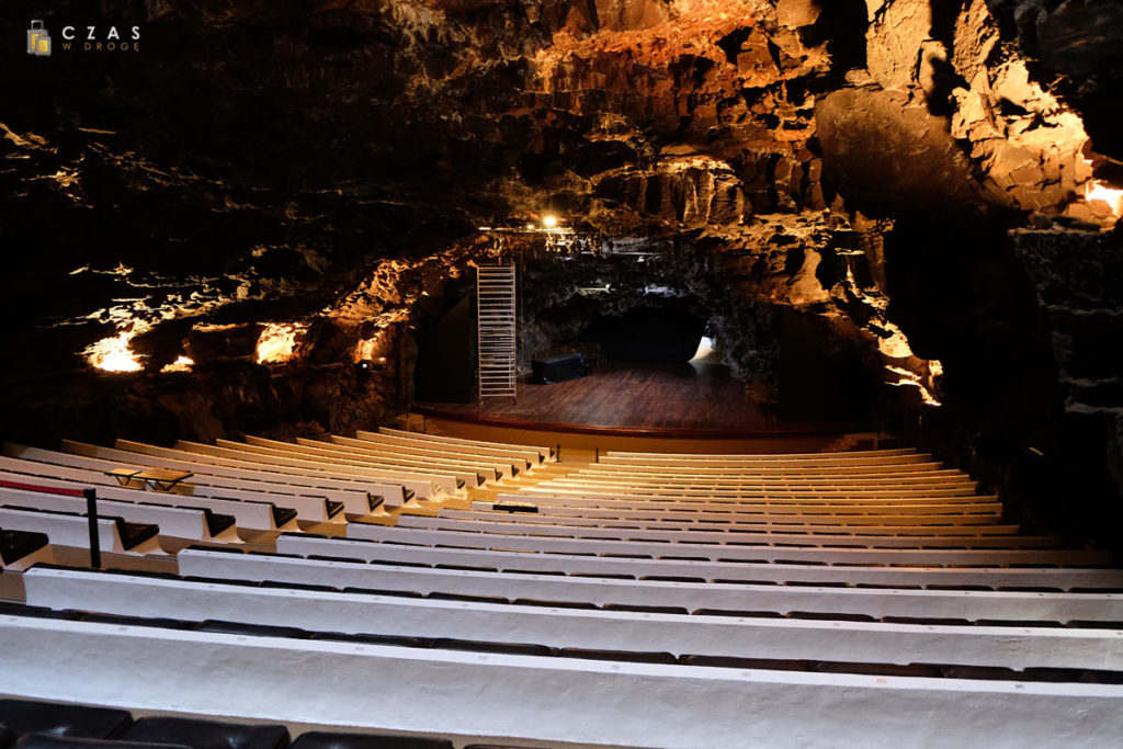 Jameos del Agua / Podziemna sala koncertowa