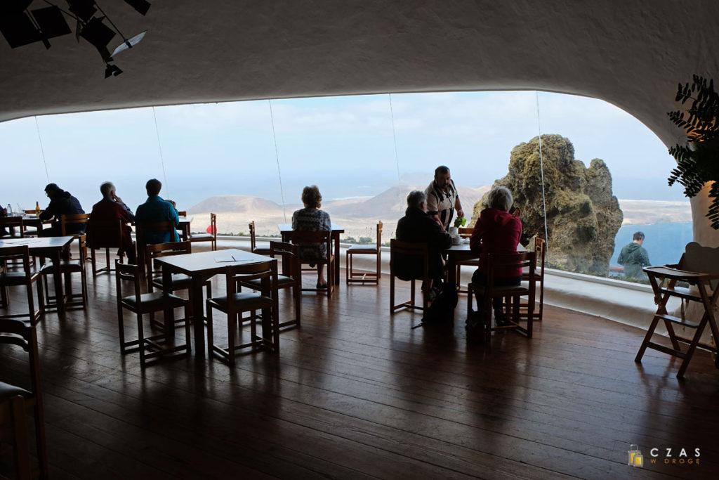 Mirador del Rio - restauracja z widokiem :)