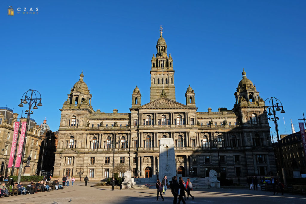 Glasgow / George Square / Ratusz