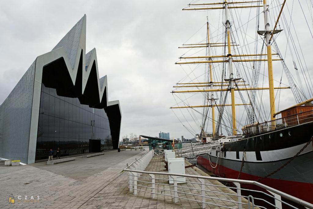 "Riverside Museum i statek-muzeum ""Glenlee"""