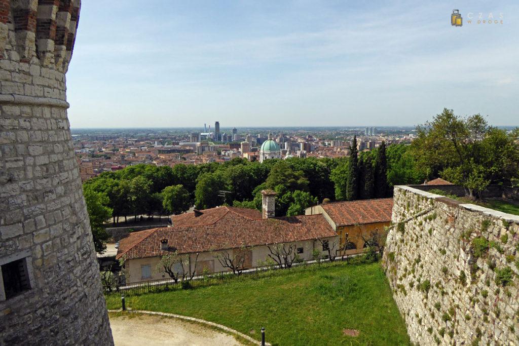 Widok na Brescię z zamku