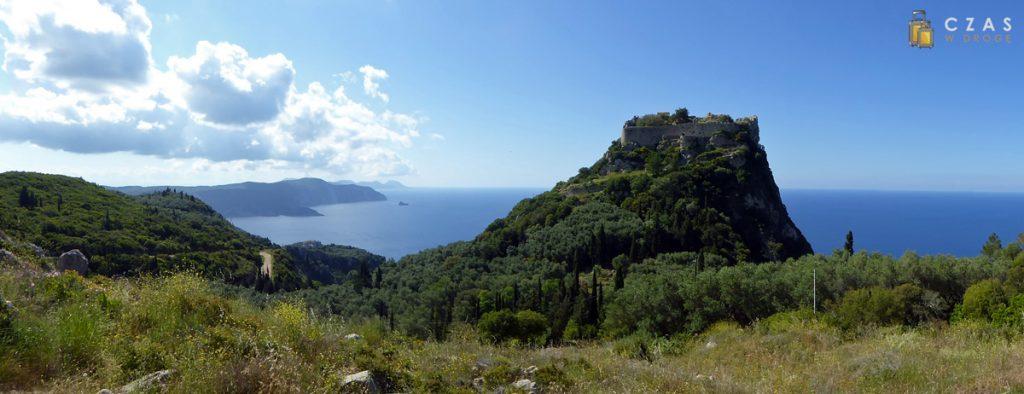 Panorama z okolic zamku Angelokastro