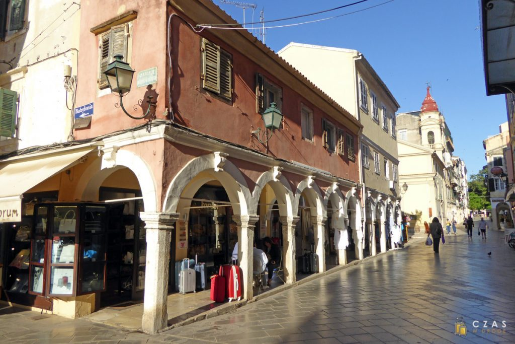 Starówka Korfu