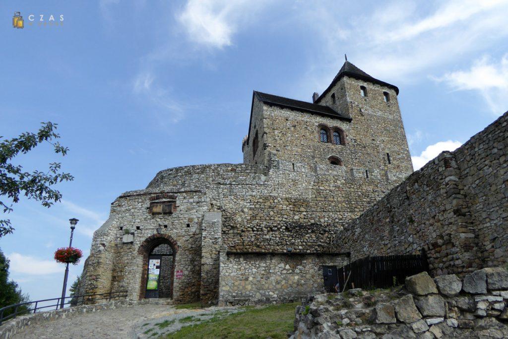 Zamek Będzin - brama wejściowa