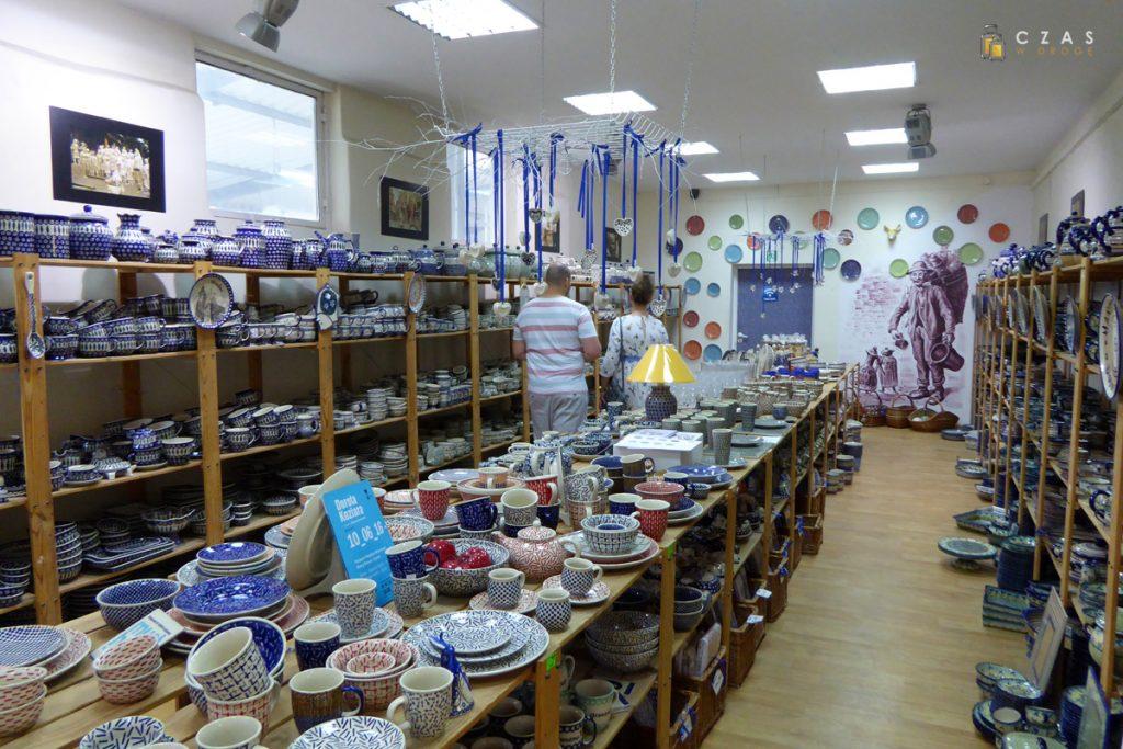 Sklep firmowy przy Żywym Muzeum Ceramiki