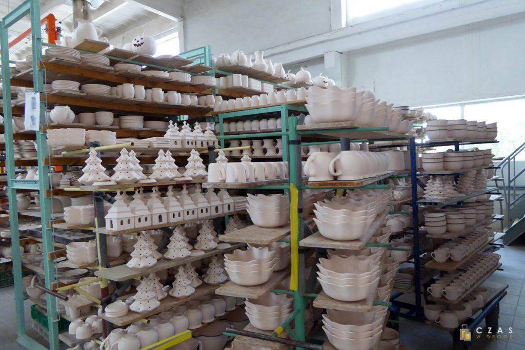 Ceramika oczekująca na zdobienie