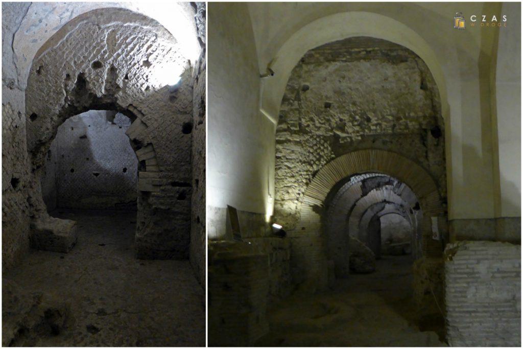 Rzymskie zabudowania pod San Lorenzo Maggiore