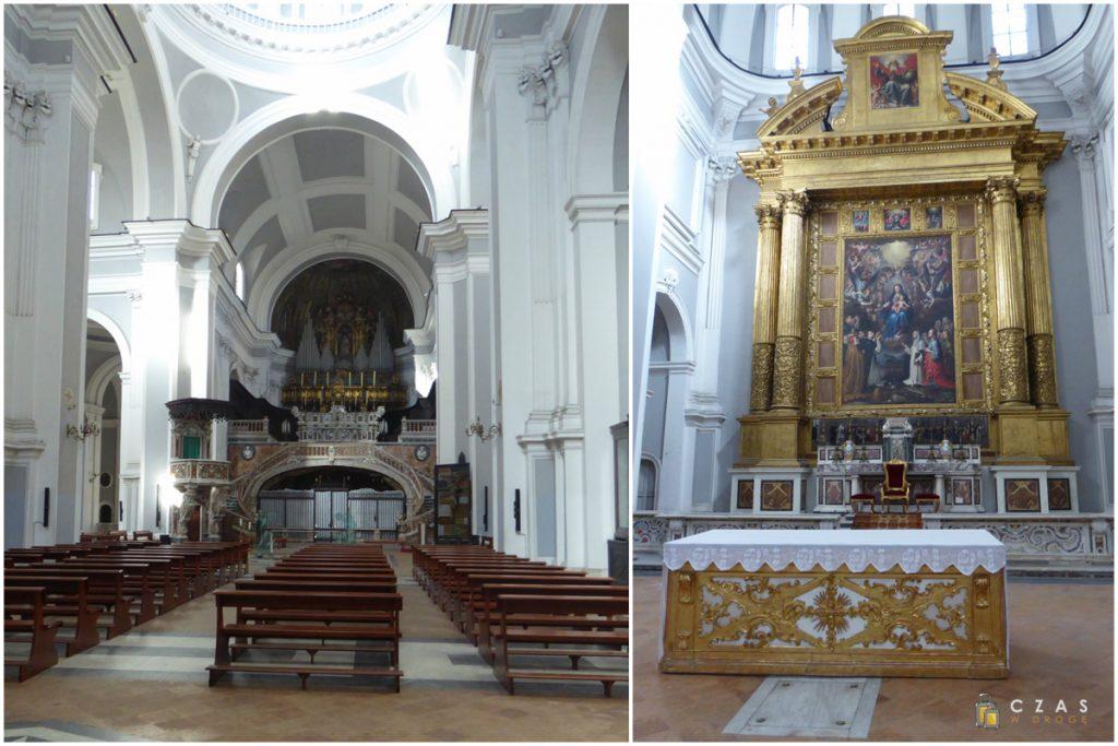 Wnętrze bazyliki Santa Maria della Sanita