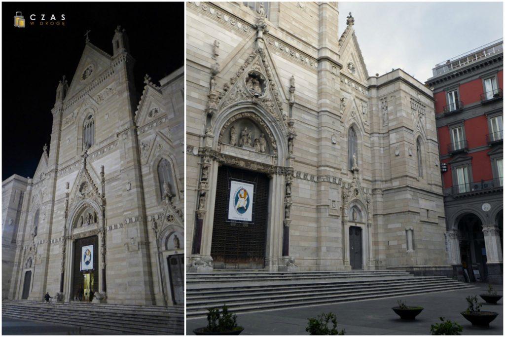 Widok na Duomo w dzień i w nocy