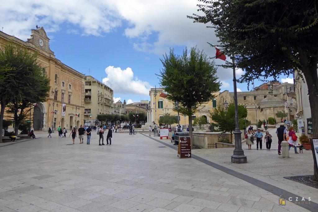 Matera - Piazza Vittorio Veneto
