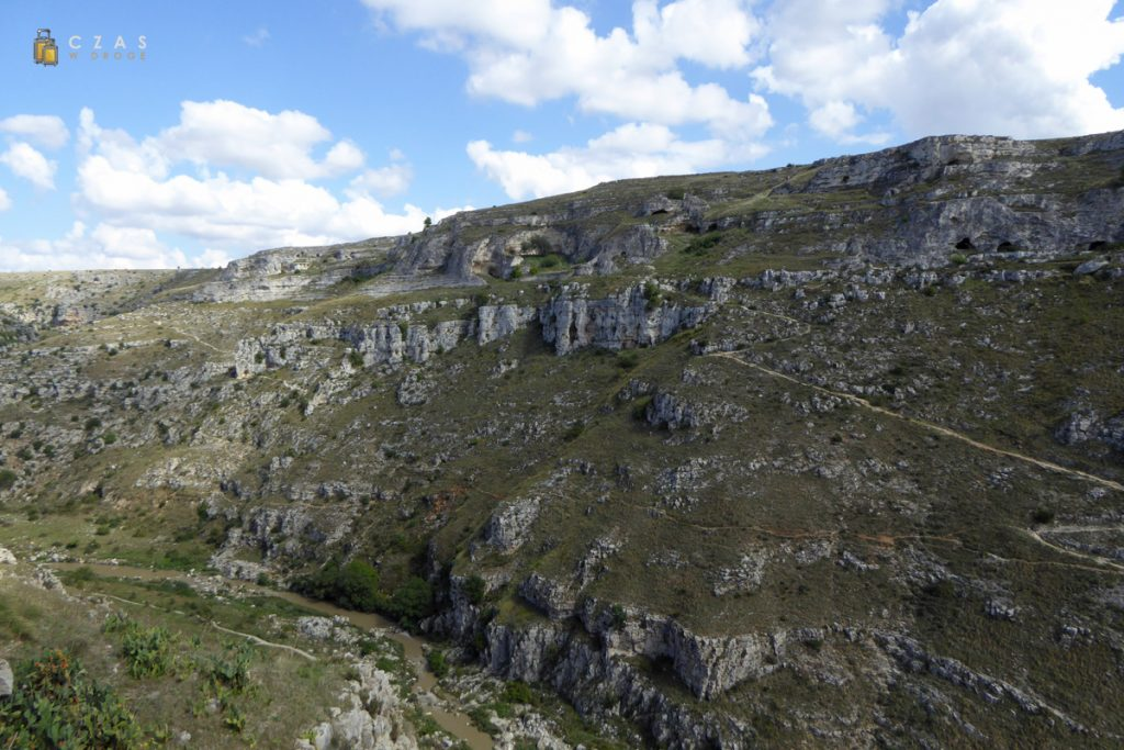 Dolina rzeki Gravina di Matera
