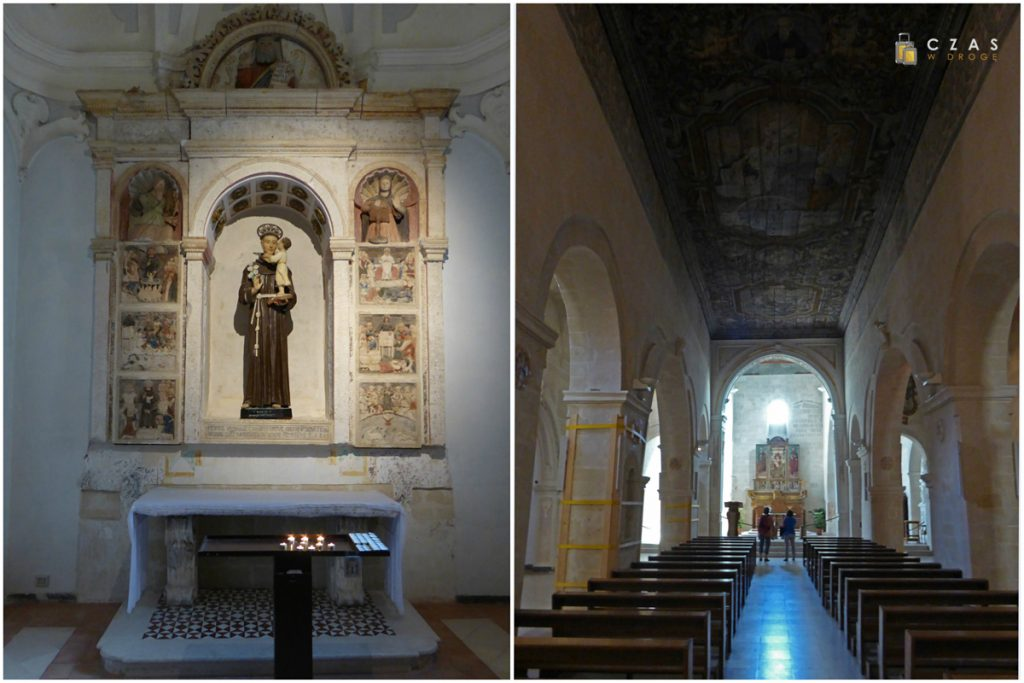 Wnętrze kościóła San Pietro Caveoso