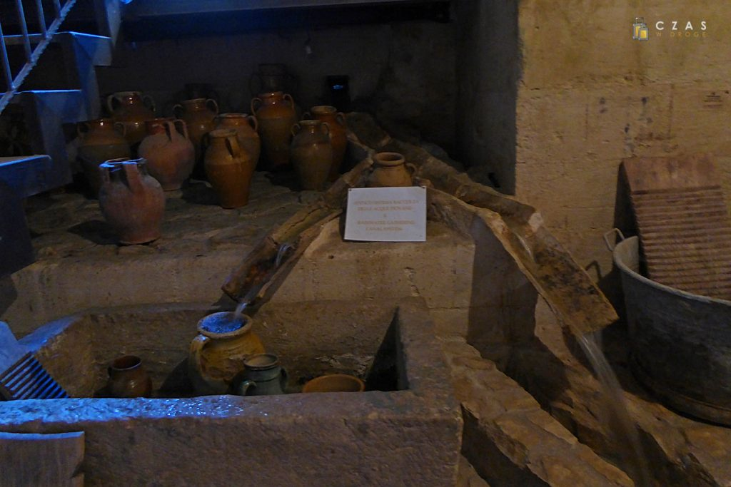 Wnętrze Casa Cisterna