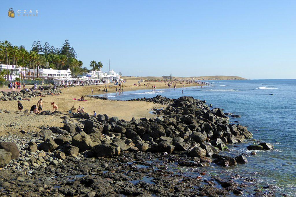 Maspalomas - plażowo-turystyczne oblicze Gran Canarii :)