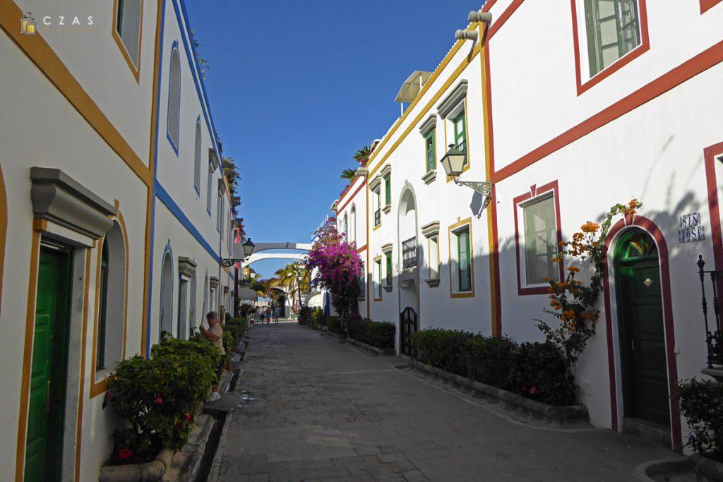 Uliczki Puerto de Mogan
