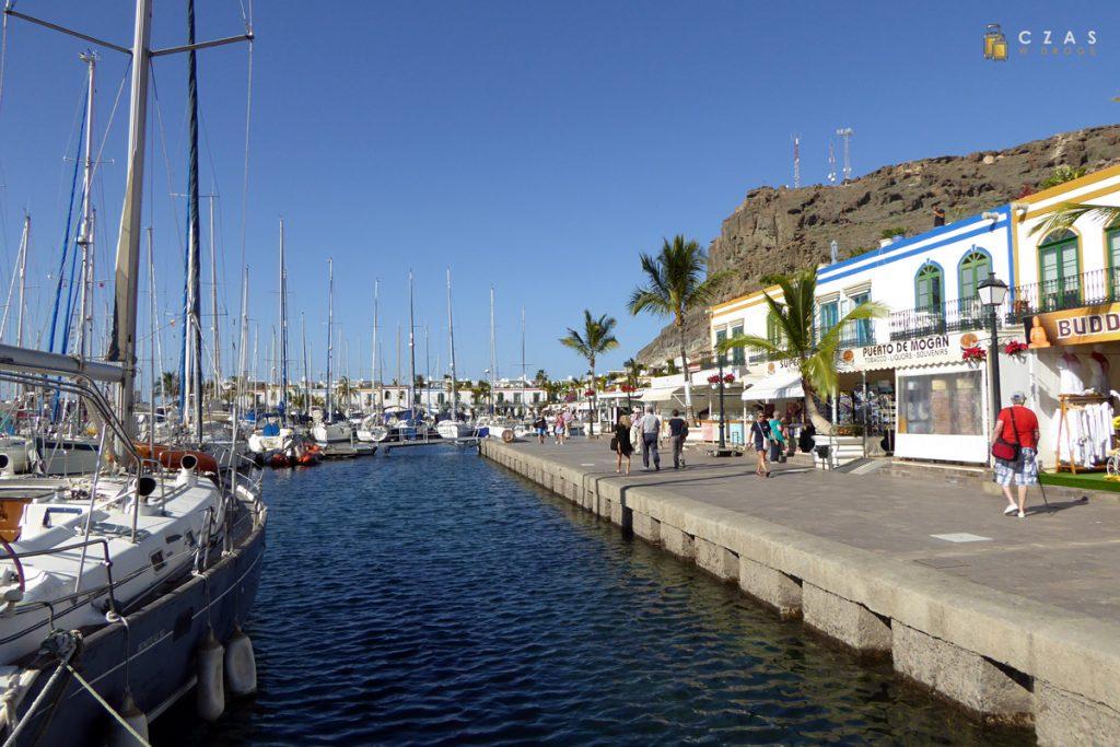 Przystań w Puerto de Mogan