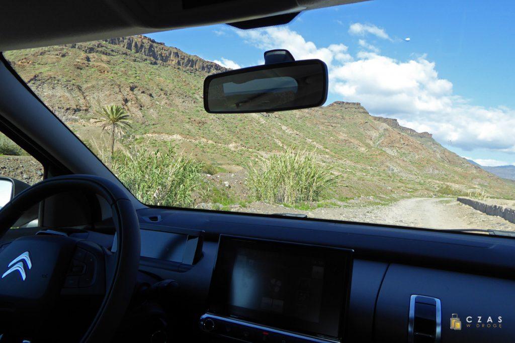 Na drodze przez Barranco de Veneguera