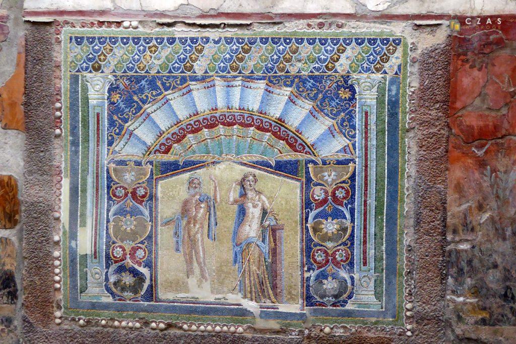 Mozaika przedstawiająca Neptuna i Amfitrytę
