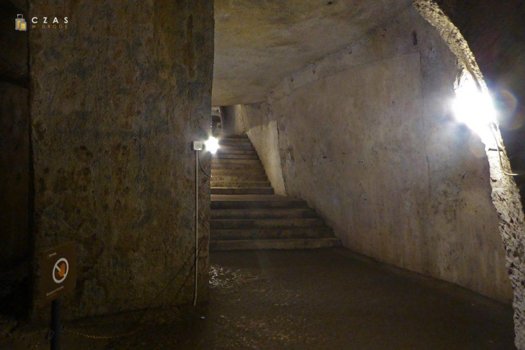 Zejście do Galleria Borbonica