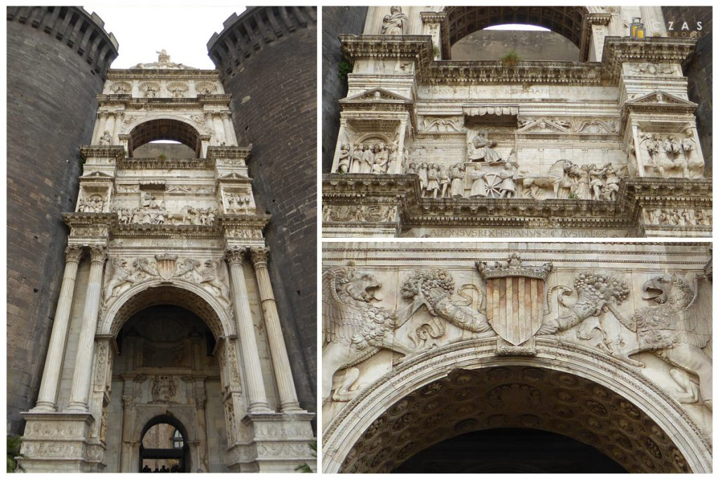 Łuk tryumfalny w Castel Nuovo