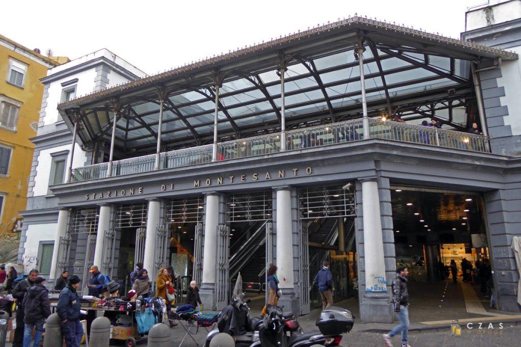 Stacja kolejki Funicolare Montesanto