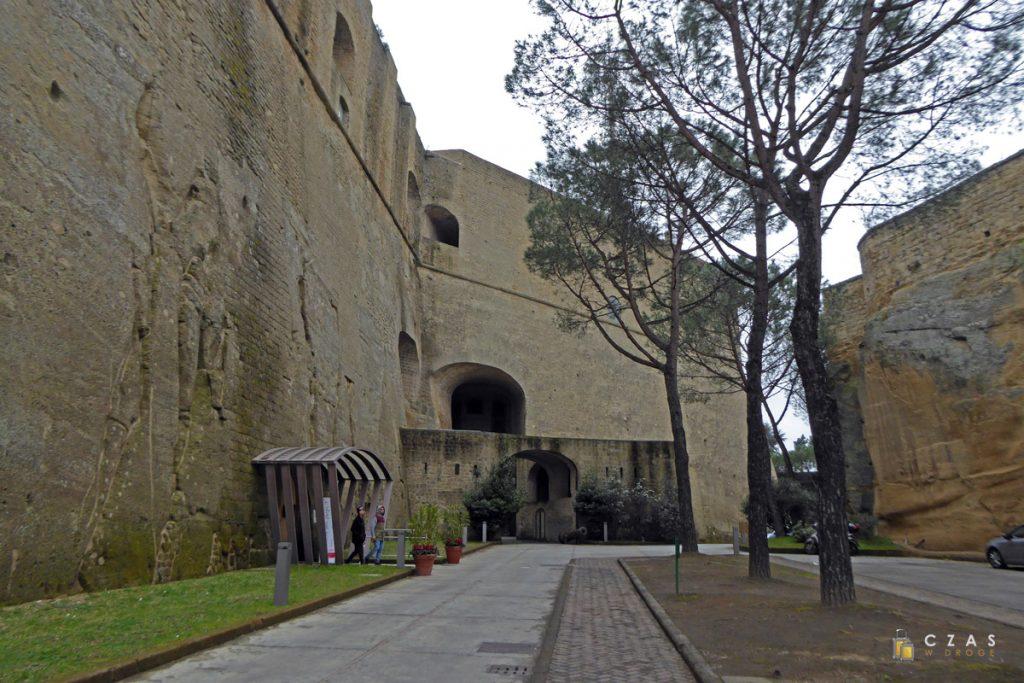 Wejście do Castel Sant'Elmo