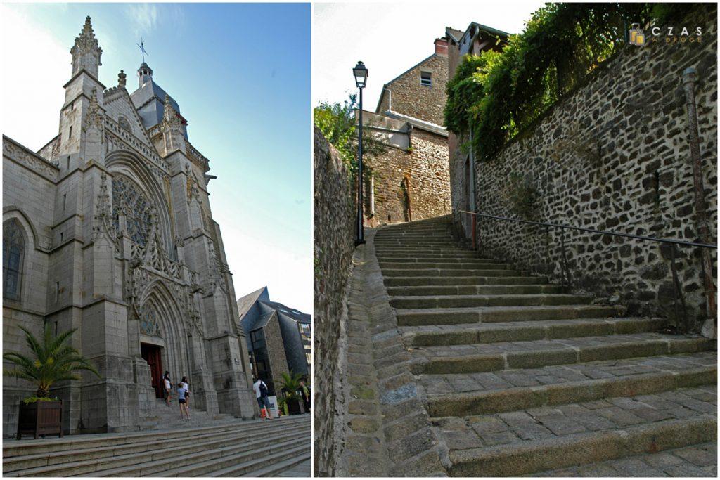 Kościół św. Leonarda / Escalier de la Duchesse Anne