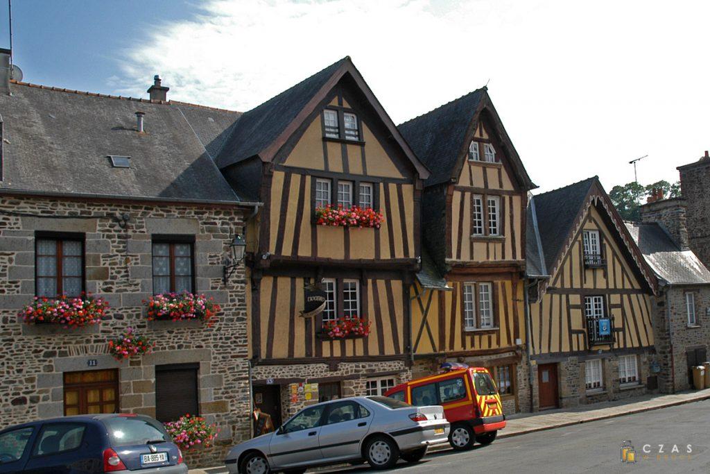 Budynki szachulcowe z XVI wieku