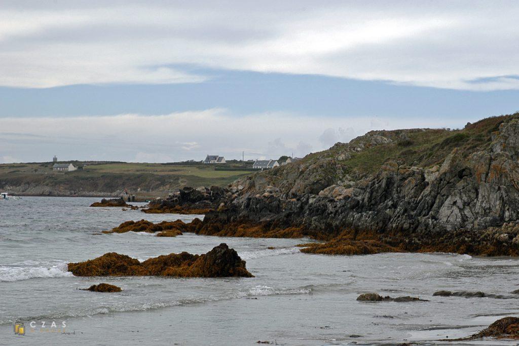 Plaża niedaleko Lampaul