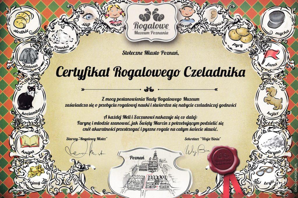 Na koniec czeka na Was certyfikat :)