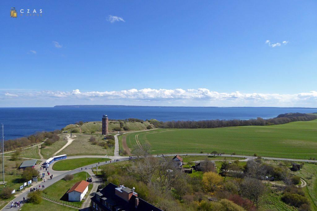 Widok na Peilturm oraz pozostałości osady Ranów